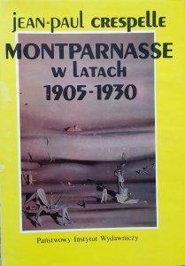 Jean Paul Crespelle • Montparnasse w latach 1905-1930