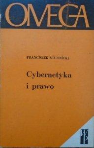 Franciszek Studnicki • Cybernetyka i prawo [dedykacja autorska]
