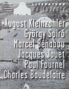 Literatura na świecie 1-2/2006 • Gyorgy Spiro, Charles Baudelaire, August Kleinzahler