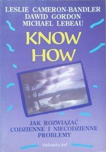 Leslie Cameron-Bandler, Dawid Gordon, Michael Lebeau • Know How. Jak rozwiązać codzienne i niecodzienne problemy [NLP]