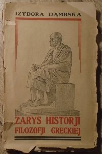 Izydora Dąmbska • Zarys historii filozofii greckiej