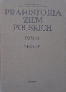 red. Witold Hensel, Tadeusz Wiślański • Prahistoria Ziem Polskich tom II. Neolit