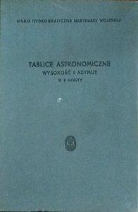Tablice astronomiczne • Wysokość i azymut w 3 minuty
