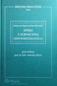 Katarzyna Kopaczyńska-Pieczniak • Spółka z ograniczoną odpowiedzialnością