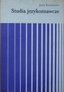 Jerzy Kuryłowicz • Studia językoznawcze