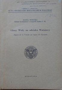 Hanna Wysocka • Glony Wisły na odcinku Warszawy [dedykacja autorska]