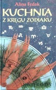 Anna Fedak • Kuchnia z kręgu zodiaku