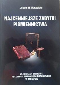 Jolanta M. Marszalska • Najcenniejsze zabytki piśmiennictwa w zbiorach biblioteki Wyższego Seminarium Duchownego w Tarnowie