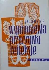 Jan Hoppe • Wspomnienia, przyczynki, refleksje