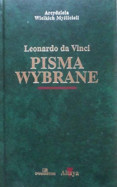 Leonardo da Vinci • Pisma wybrane [zdobiona oprawa]