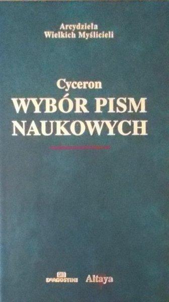 Marek Tuliusz Cyceron • Wybór pism naukowych  [zdobiona oprawa]