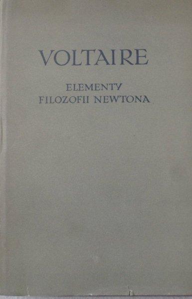 Voltaine • Elementy filozofii Newtona