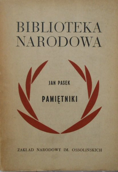 Jan Pasek • Pamiętniki