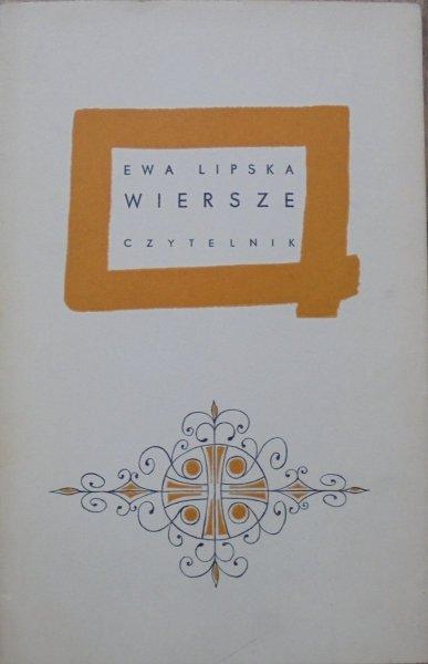 Ewa Lipska • Wiersze [dedykacja autorki]