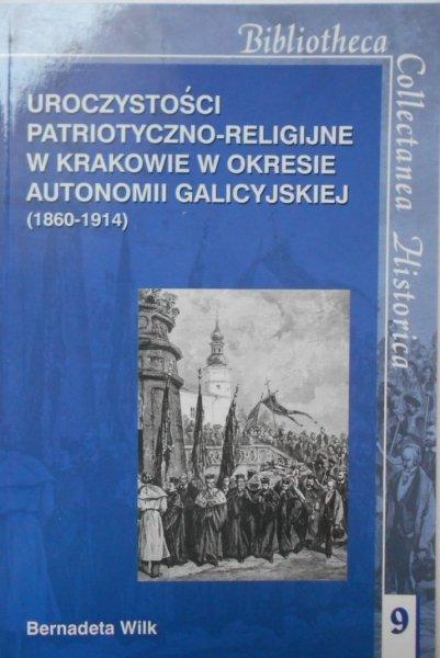 Bernadeta Wilk • Uroczystości patriotyczno-religijne w Krakowie