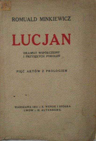 Romuald Minkiewicz • Lucjan