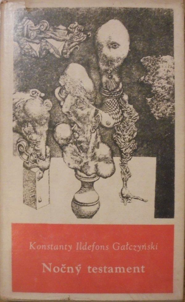 Konstanty Ildefons Gałczyński • Nočný testament [Albín Brunovský]