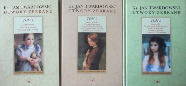 Ks. Jan Twardowski • Utwory zebrane [komplet]