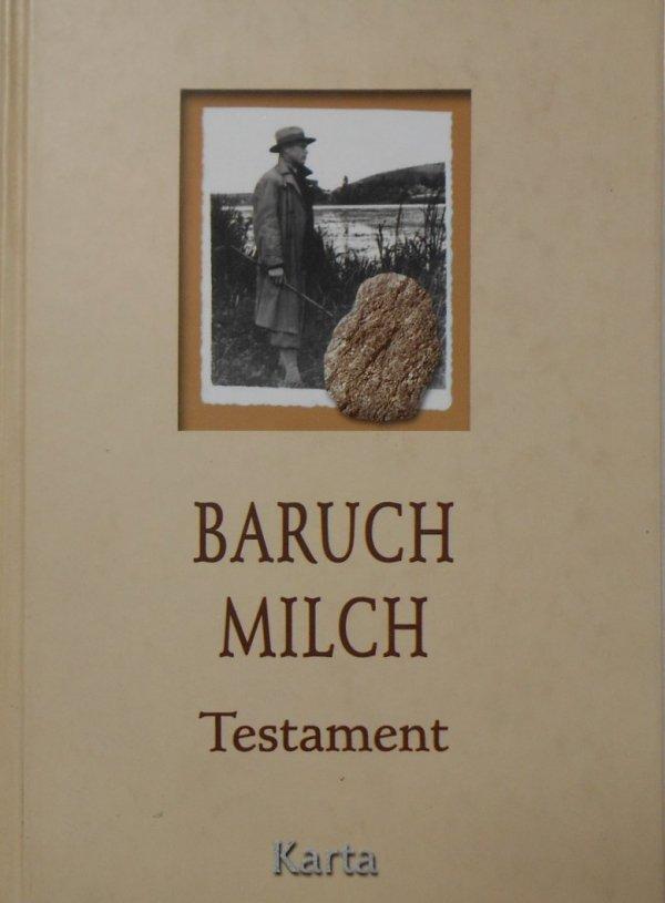 Baruch Milch • Testament