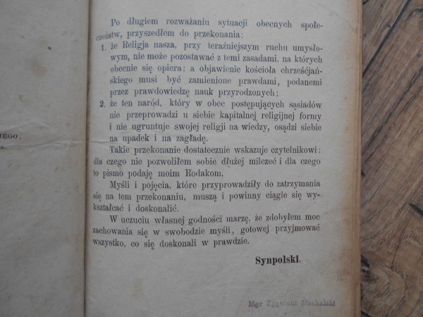 Synpolski właśc. Edward Żukowski • Idea