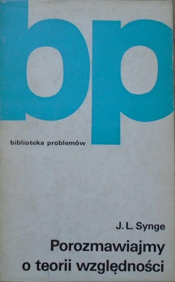 J.L.Synge • Porozmawiajmy o teorii względności [teoria względności]