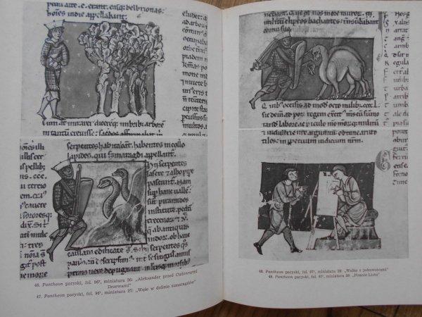 Krystyna Secomska • Legenda Aleksandra Wielkiego w 'Pantheonie' sandomierskim : miniatury w kodeksie z 1335 roku