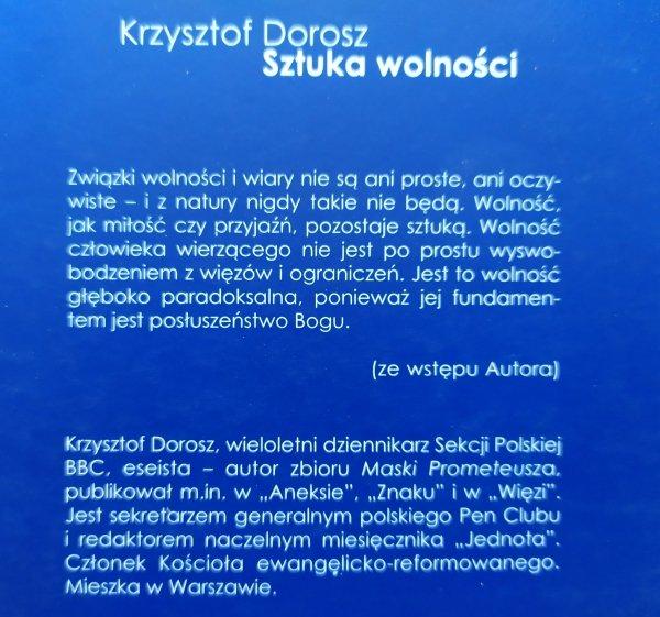Krzysztof Dorosz Sztuka wolności