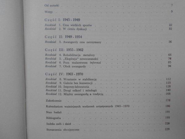 Bożena Kowalska • Polska awangarda malarska 1945-1970