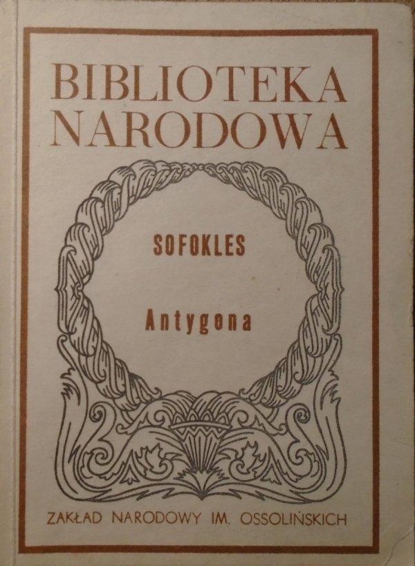 Sofokles • Antygona