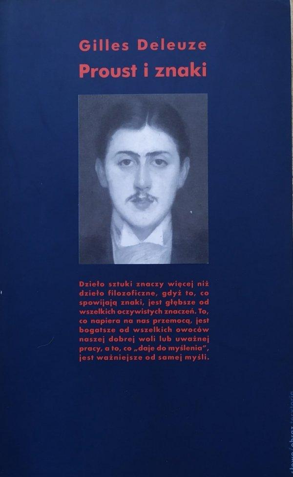Gilles Deleuze Proust i znaki