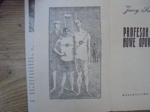Jerzy Szaniawski • Profesor Tutka. Nowe opowiadania [Daniel Mróz]