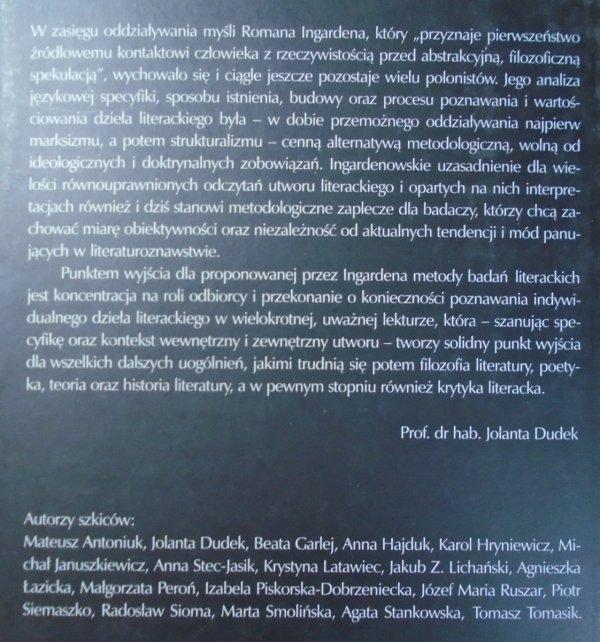 praca zbiorowa • Liryka i fenomenologia. Zbigniew Herbert i Tadeusz Różewicz w kręgu myśli ingardenowskiej