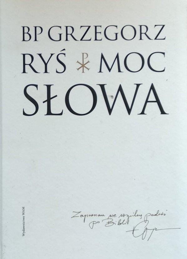 Grzegorz Ryś • Moc słowa