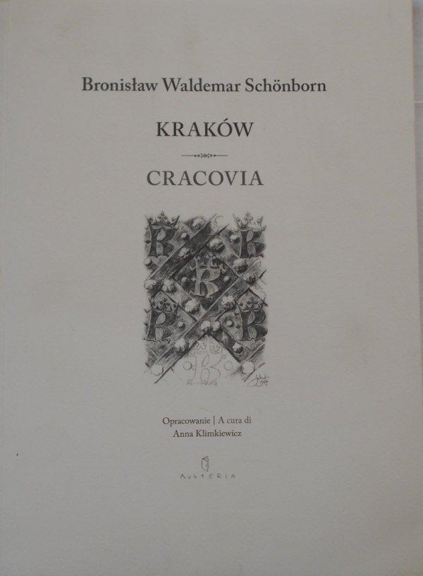 Bronisław Waldemar Schonborn • Kraków. Cracovia