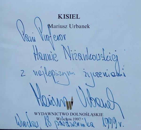 Mariusz Urbanek • Kisiel [A to Polska właśnie] [dedykacja autorska]