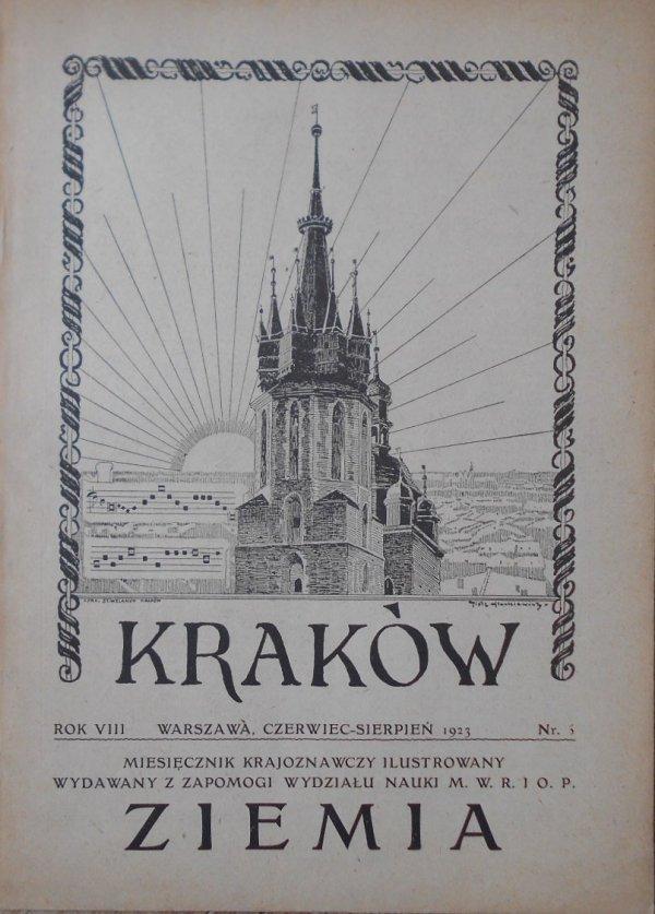 Miesięcznik Ziemia 6/1923 • Kraków