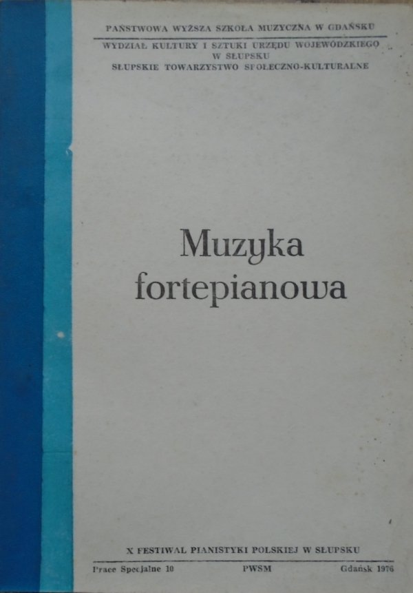 praca zbiorowa • Muzyka fortepianowa