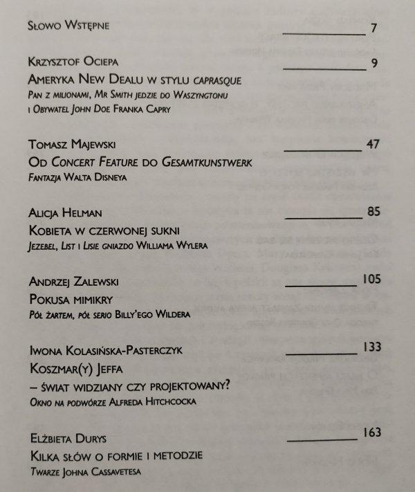 red. Elżbieta Durys, Konrad Klejsa • Kino amerykańskie. Dzieła