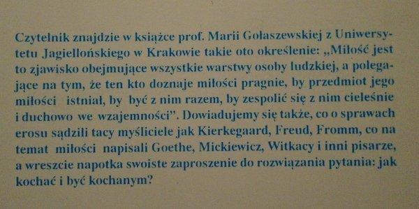 Maria Gołaszewska • Imiona miłości. Nowożytna myśl o życiu erotycznym