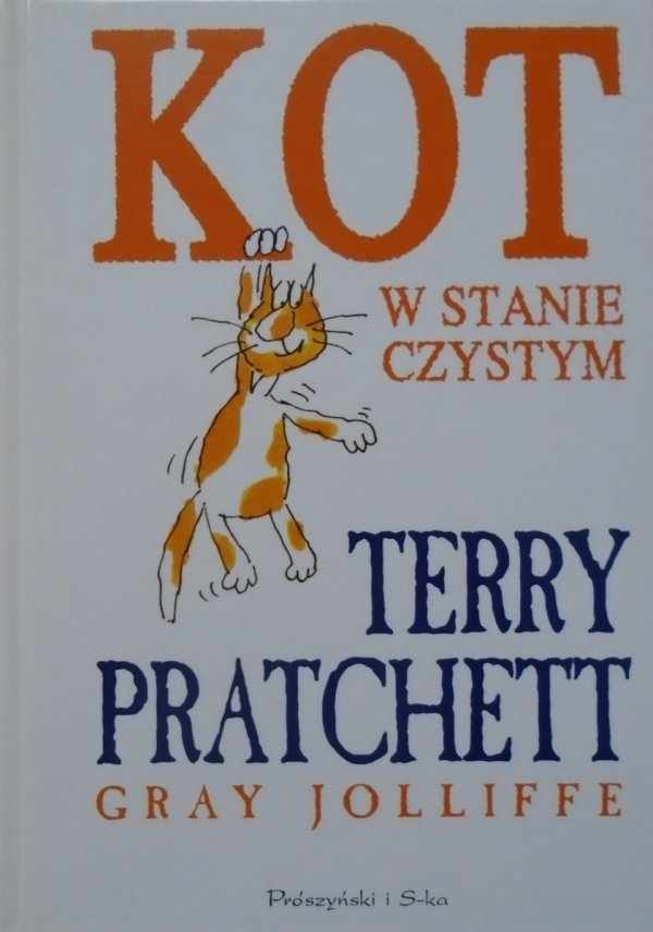 Terry Pratchett • Kot w stanie czystym