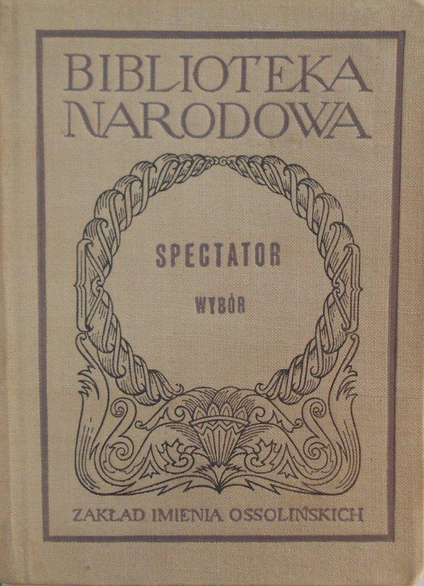Joseph Addison, Richard Steele  • Spectator. Wybór