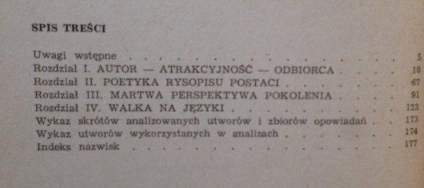 Wojciech Wielopolski • Młoda proza polska przełomu 1956. Bursa, Grochowiak, Hłasko, Odojewski