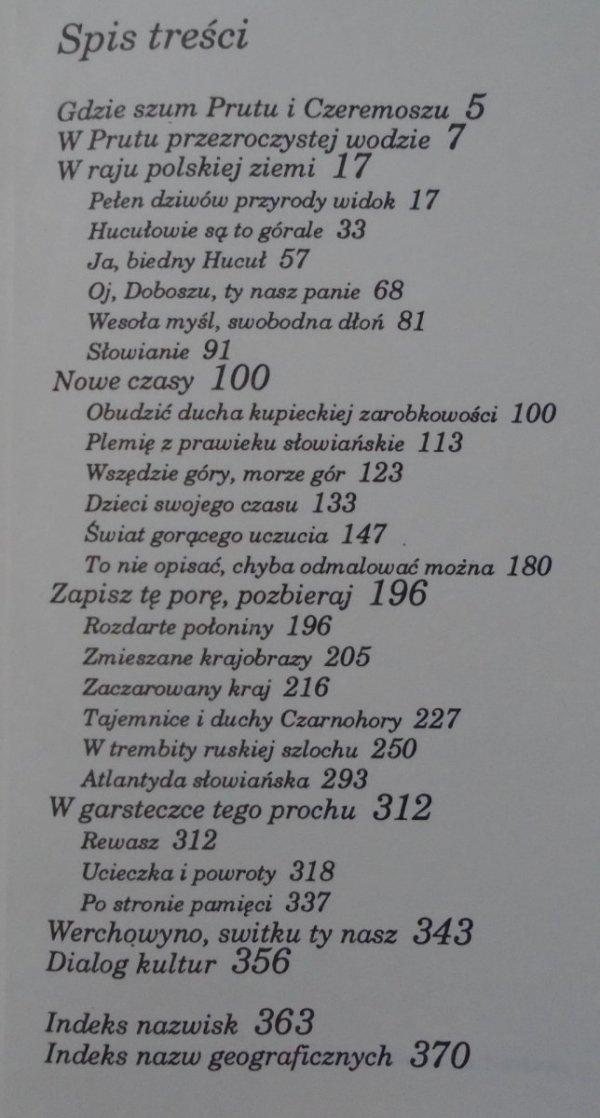 Jan A. Choroszy • Huculszczyzna w literaturze polskiej