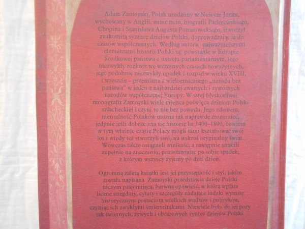 Adam Zamoyski • Własną drogą. Osobliwe dzieje Polaków i ich kultury
