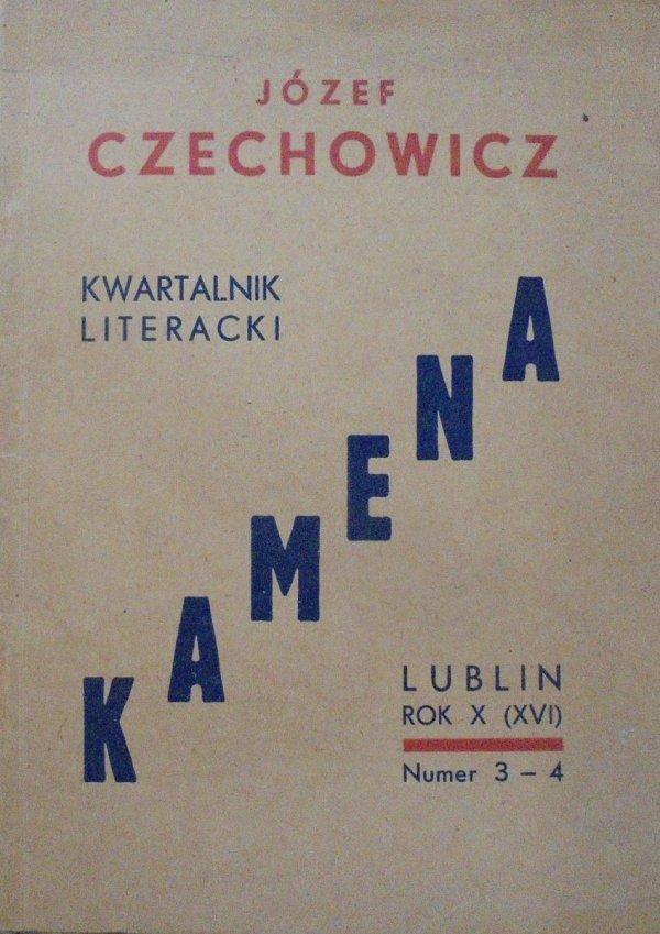 Józef Czechowicz • Kamena 3-4/1949