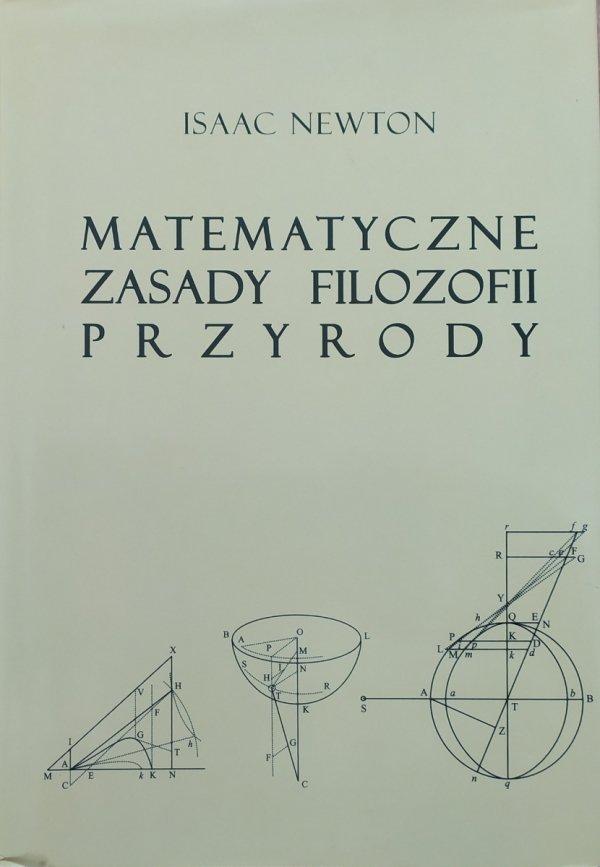 Isaac Newton Matematyczne zasady filozofii przyrody