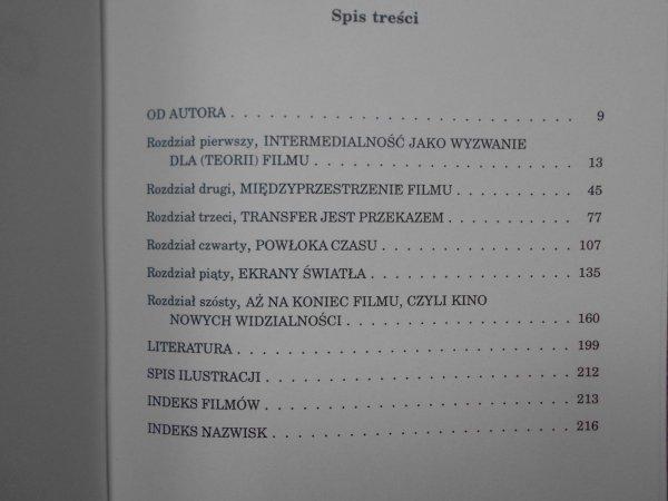 Andrzej Gwóźdź Obrazy i rzeczy. Film między mediami