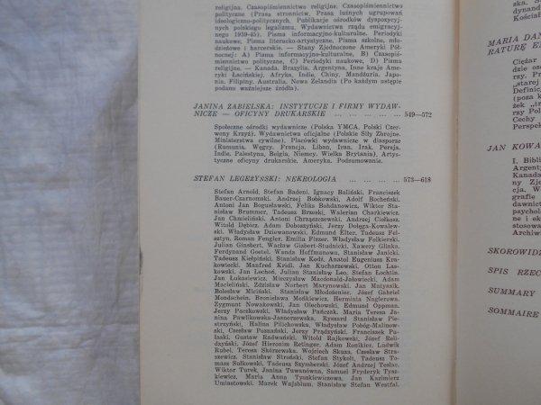 red. Tymon Terlecki • Literatura Polska na obczyźnie 1940 - 1960