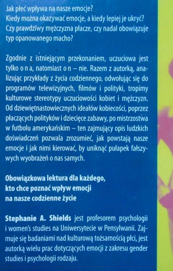 Stephanie A. Shields • Mówiąc od serca. Płeć i społeczny wymiar uczuć