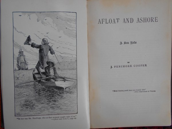 James Fenimore Cooper • The Sea Lions + Afloat and Ashore
